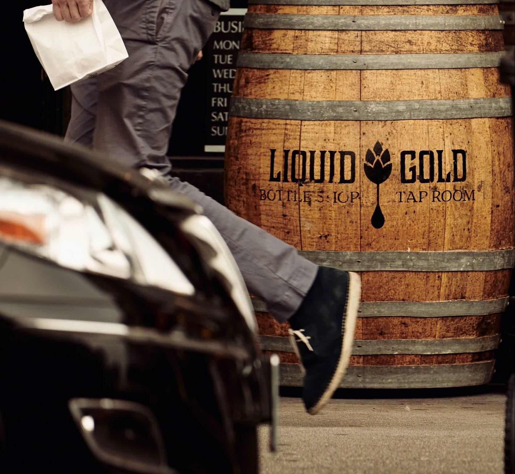 Liquid Gold Tap Room Street View Near Condos Lower Nob Hill